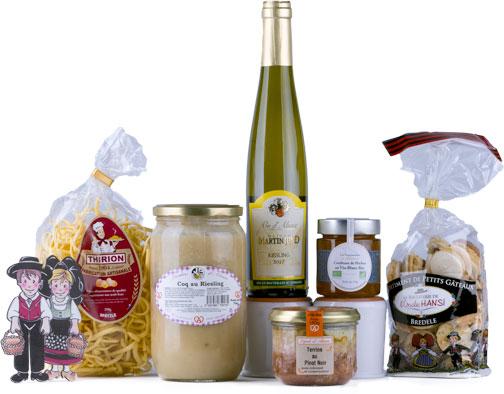 Photo du coffret N° 1 de l'offre avec abonnement Signatures d'Alsace COLMAR BOX