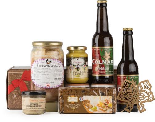 Photo du coffret N° 2 de l'offre avec abonnement Signatures d'Alsace COLMAR BOX