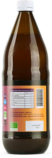 Photo 1 de l'étiquette de la boisson Kombucha BIO Uberti