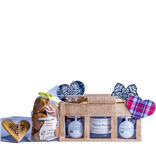 Photo des produits de la box Cœur fondant, une création Signatures d'Alsace