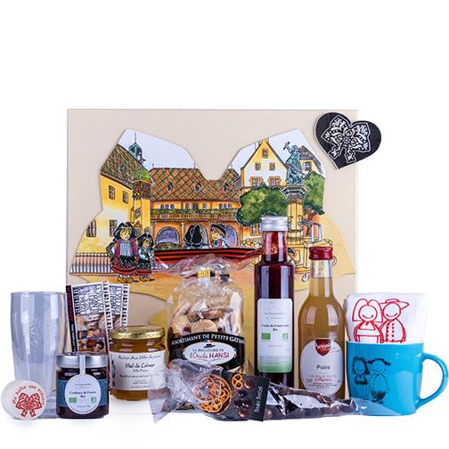 Photo de la BOX Coffret Tendresse et de ses articles, une création Signatures d'Alsace