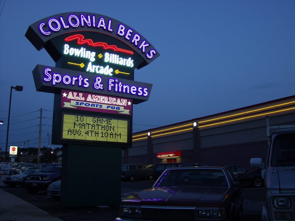 Colonial Berks - Outdoor Lighted Business Signs - Signature Sign, Inc.