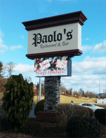 Paolo's Restaurant & Bar - Business Signs Reading PA