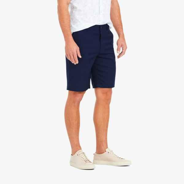 Navy Blue Baron Shorts from Mizzen Main Lubbock Texas