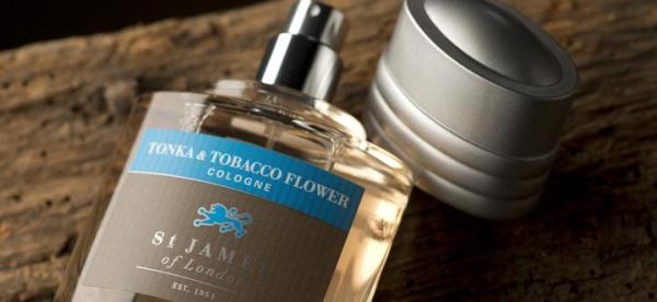 Buy St. James of London Tonka & Tobacco Flower Cologne at Signature Stag in Lubbock TX