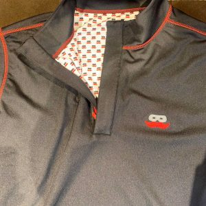 Show your Texas Tech Red Raider pride on game day with Black 1/4 Zip Pullover Men's Shirt with Mustache Logo at Signature Stag in Lubbock TX