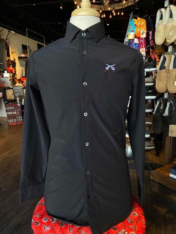 Black Cross Guns Mizzen and Main Business Casual Wear