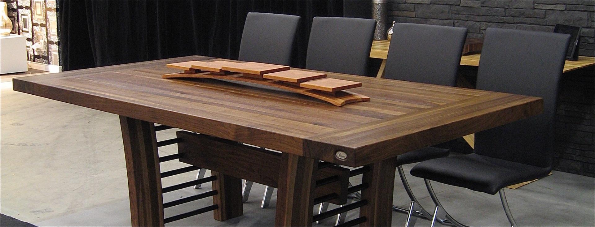 Table Comptoir Bloc De Boucher Et Ilt En Bois Massif