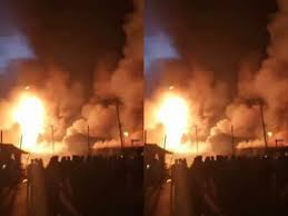 gas explosion in Rumuodomaya community, Obio/Akpo Local Government Area of Rivers State