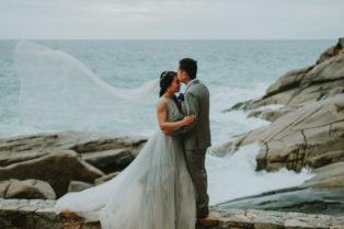 Alex & Andy's Intimate Island Wedding In Phuket