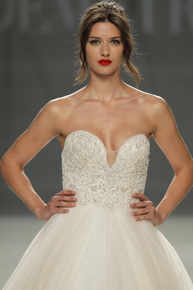 wedding-dresses, style-fashion, lookbook - DEMETRIOS at Barcelona Bridal Week 2017
