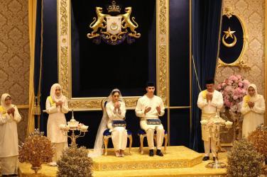 Johor Princess Tunku Aminah's Royal Wedding9