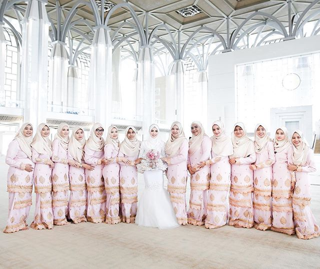wedding, malaysia, celebrity - Hanis Arif & Irshad Razali wed in Beautiful Pastel Wedding