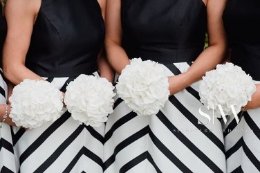 @thepromiseni Monochrome Bridesmaids