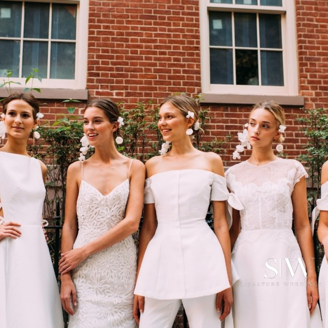 LELA ROSE Fall 2018 Bridal Collection—New York Fashion Week