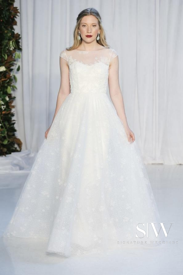 wedding-dresses, style-fashion, lookbook - ANNE BARGE Fall 2018 Bridal Collection—New York Fashion Week