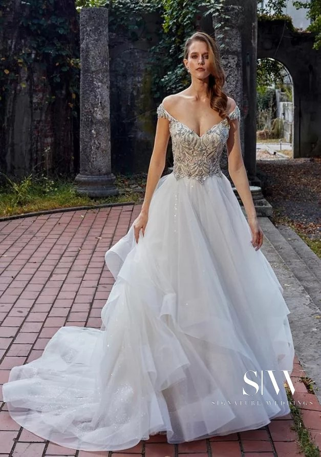 EVE OF MILADY Fall 2018 Bridal Collection—New York Fashion Week