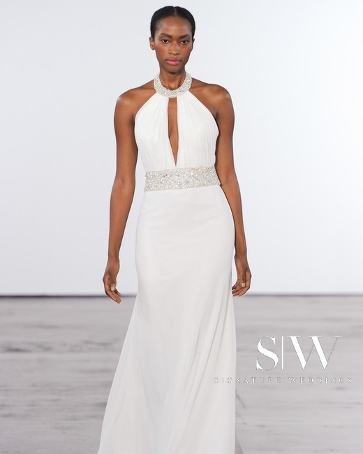 DENNIS BASSO for KLEINFELD Fall 2018 Bridal Collection—New York Fashion Week
