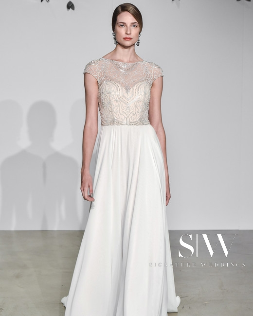 JUSTIN ALEXANDER Fall 2018 Bridal Collection—New York Fashion Week