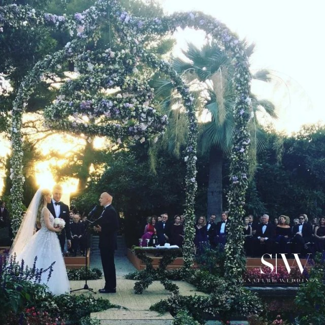 wedding, global-wedding, celebrity - This CNN Reporter's Wedding in the French Riviera is Sumptuously Splendid