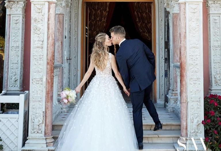 Rachel Crane Andrew Marks Wedding in French Riviera in Sumptuous Ceremony