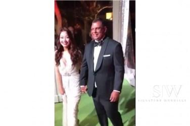 tony fernandes and wife chloe wedding video leak