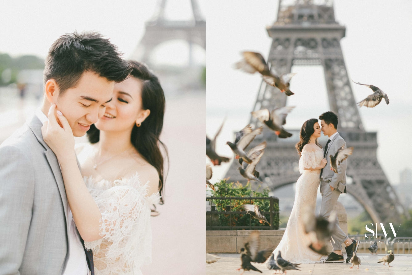 Boby and Stephanie Europe Pre Wedding Photoshoot Starting of Right Axioo 33