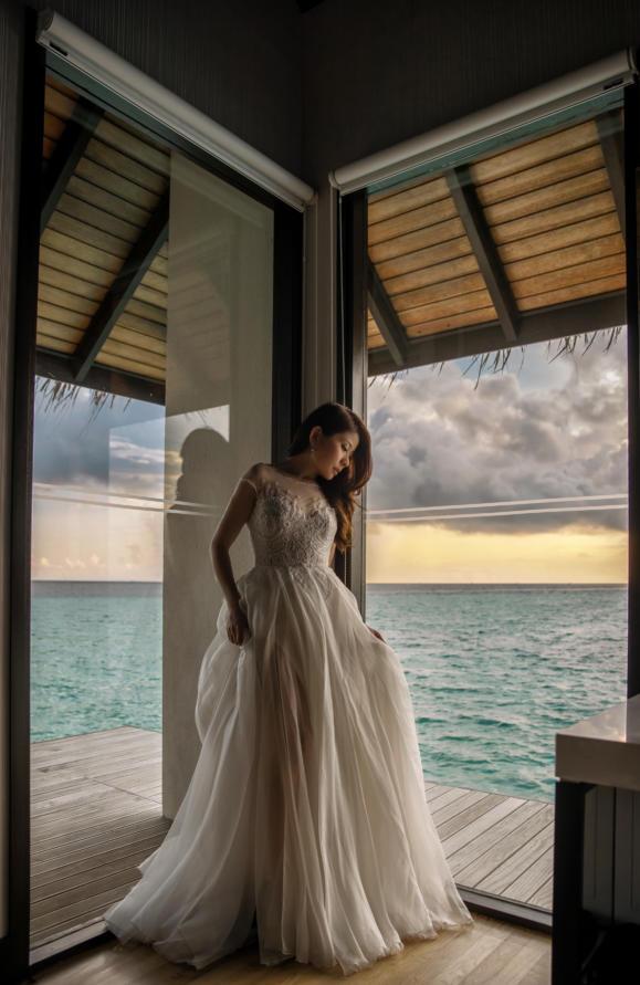 Keda Z & Kelly Wedding in Maldives21