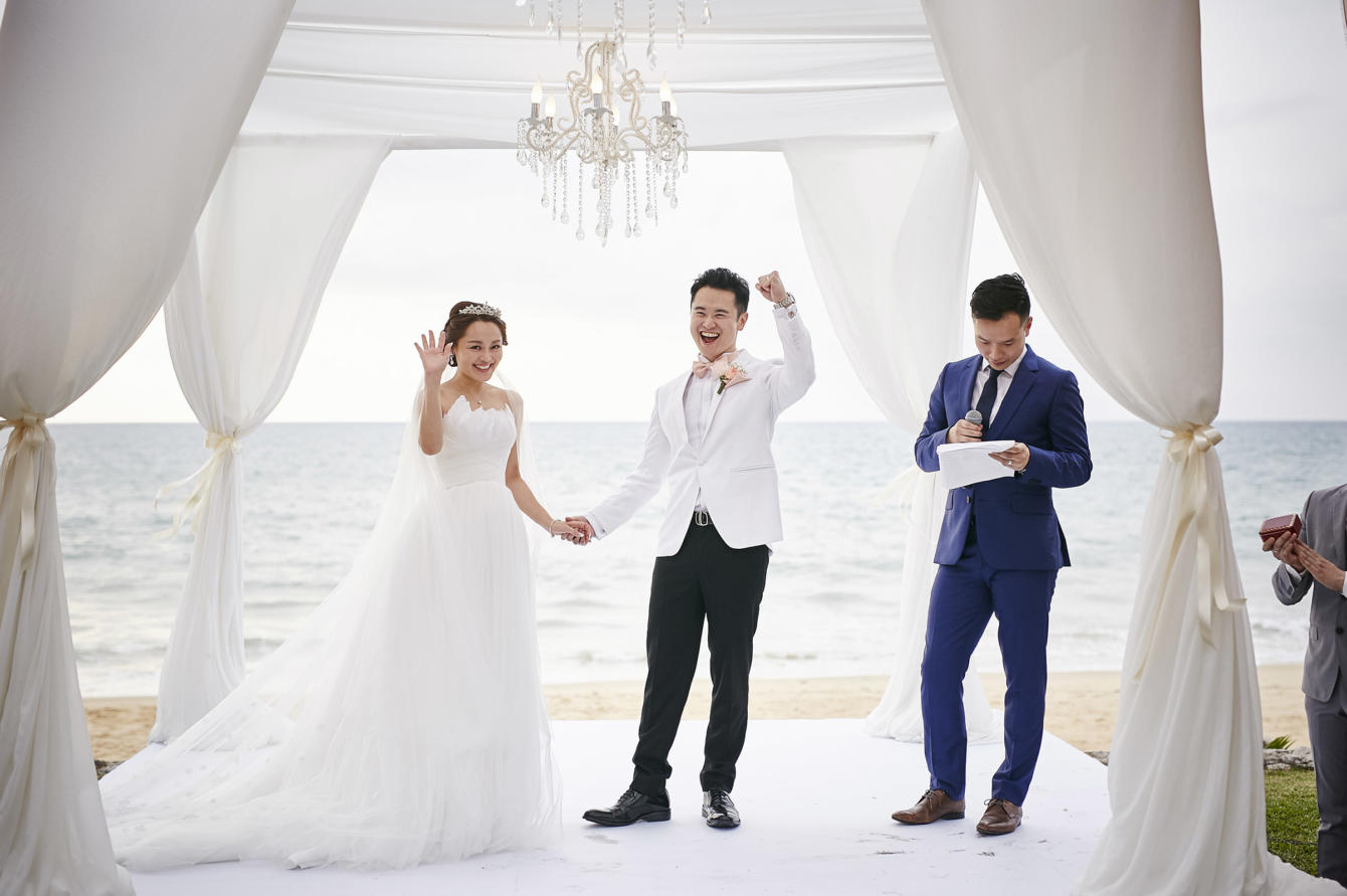 wedding, thailand, phuket, global-wedding, destination-weddings - Angela and Arick's peachy wedding in Sava Villas, Phuket