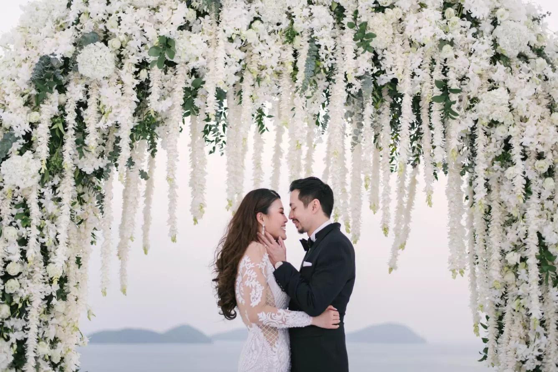 wedding, thailand, phuket, destination-weddings - Destined to be: Theresa and Eu Jin's Sri Panwa Phuket wedding