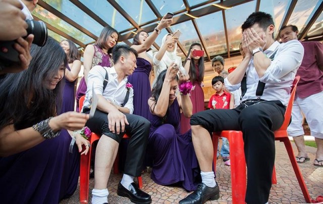 wedding, fun, etc - Top Painful 'Jip San Leong' Games To Make Groom's Men Cry