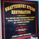 Shaftesbury Steam