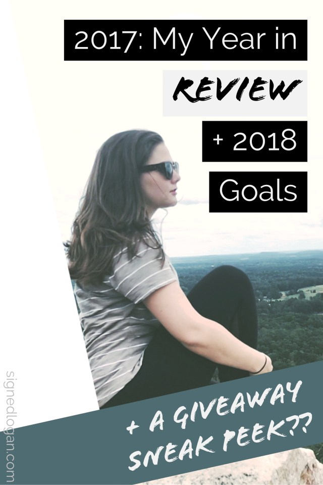 2017: My Year in Review + 2018 Goals GIVEAWAY