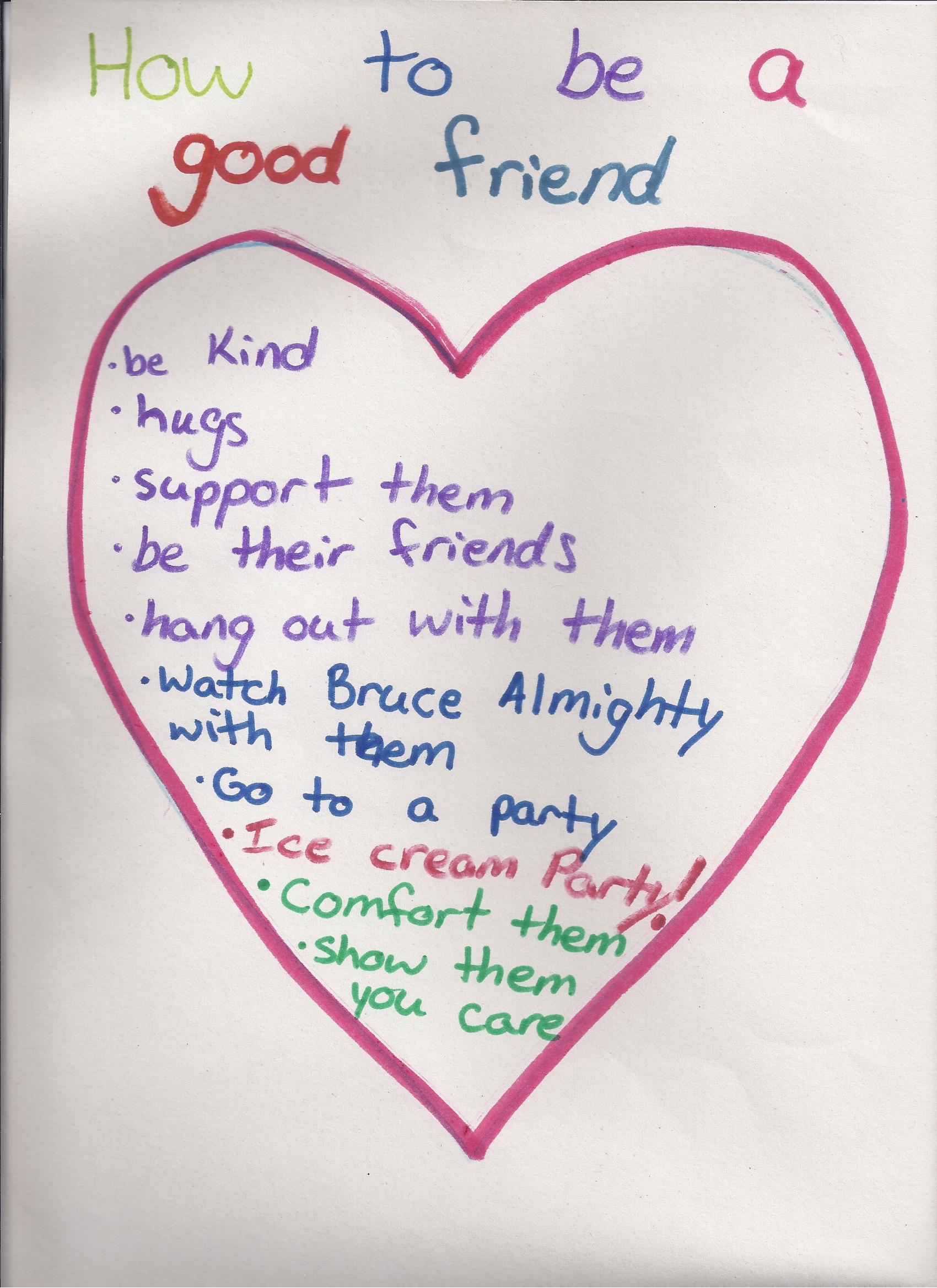 Girl Scouts Know How To Be Friends Indeed
