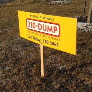 Coroplast Signs Winnipeg
