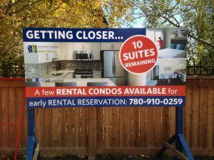 Edmonton East Real Estate Signs