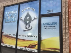 Edmonton North Window Sign