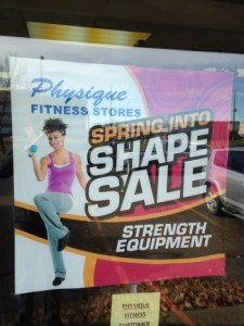 Poster Sign Fort McMurray