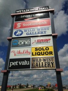 Pylon Signs Fort McMurray