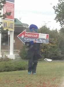 Winnipeg Spinner Arrow Signs