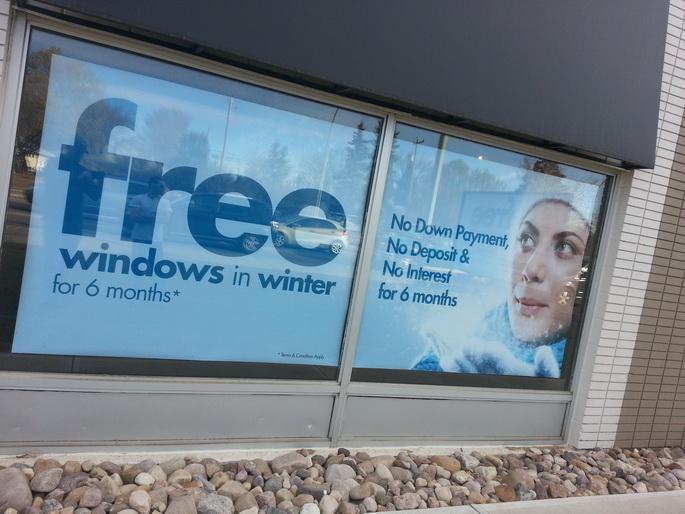 Poster Signs Edmonton West