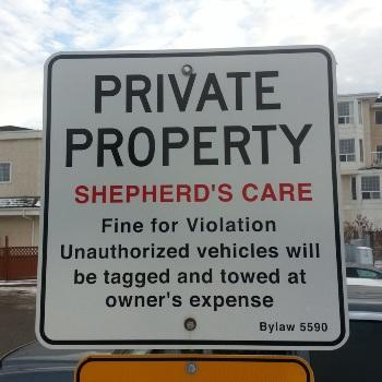Aluminum Signage Spruce Grove