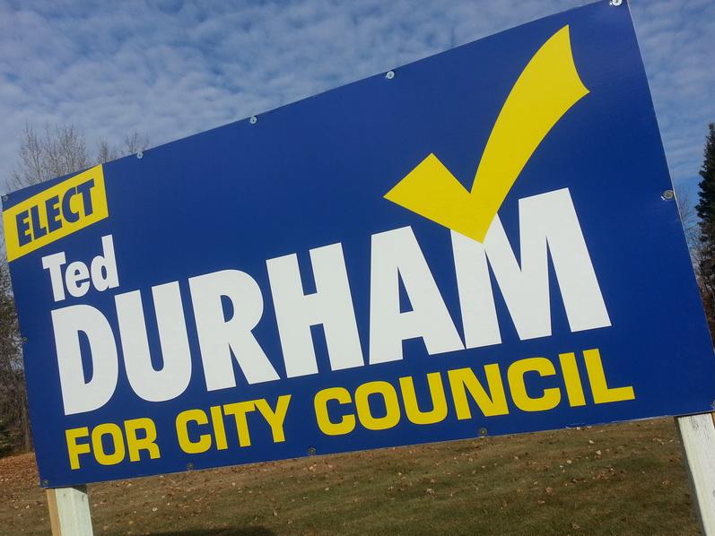 Election Signs Sherwood Park