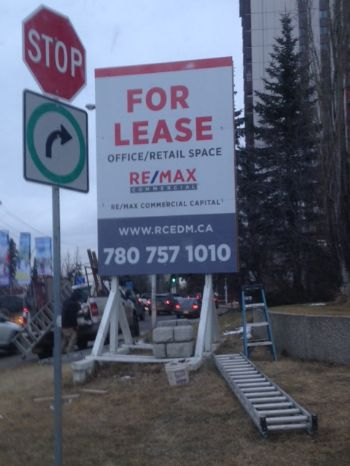 St. Albert For Lease Signs