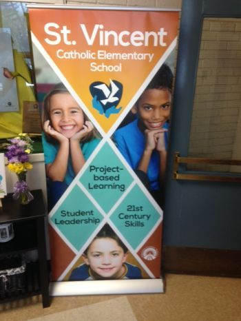 Pop-up Banner Stands Spruce Grove