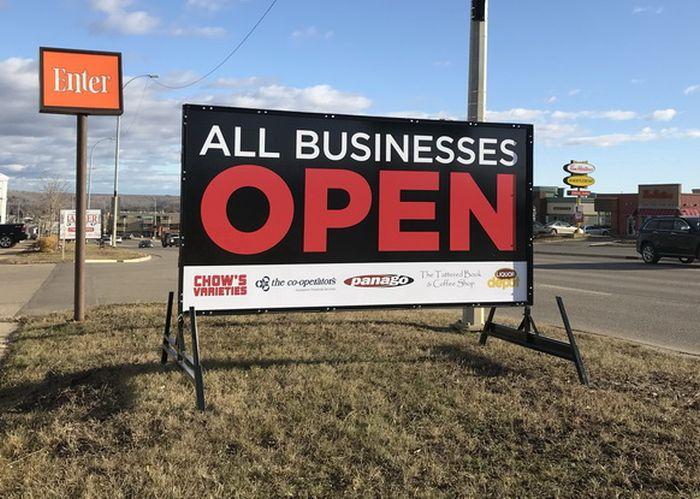 Portable Signs Edmonton  East