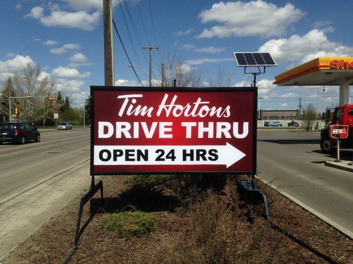 Portable Signs Edmonton North