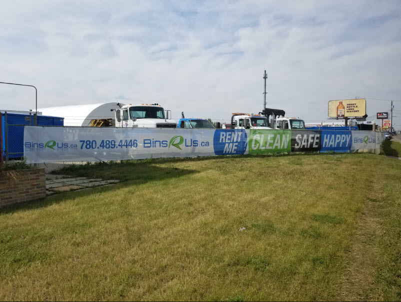 Mesh Banners Spruce Grove