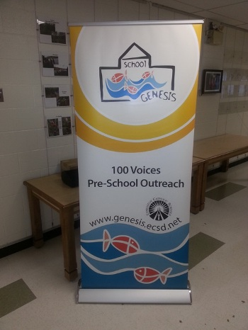 Retractable Banner Stand Spruce Grove