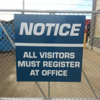 St. John's Aluminum Signs